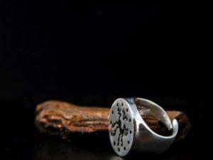 anello chevalier con chimera sannita