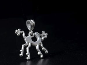 Piccolo ciondolo chimera in argento
