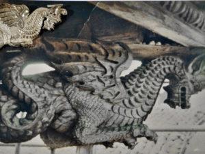 ciondolo in argento drago di Pescocostanzo (AQ)